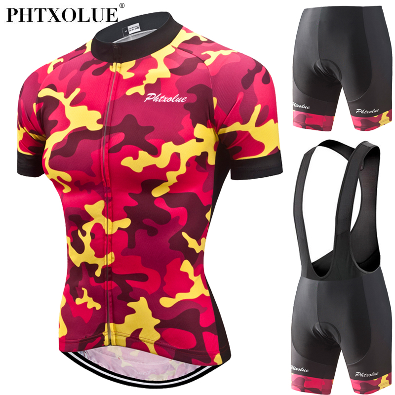 Phtxolue Women Short Sleeve Cycling set Mountain Bike Clothing Pro Bicycle Jersey Sportswear Suit Maillot Ropa Ciclismo 2018 new flowers skulls woman s bicycle jersey shorts suit bike bicycle short sleeve clothing set sportswear cycling clothes