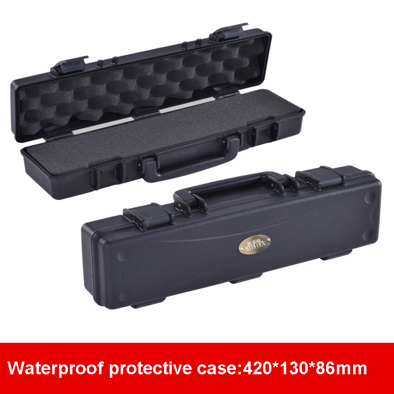 Waterproof Protective Tool Case Toolbox Camera Case Suitcase Impact Resistant Sealed Storage Box With Pre-cut Foam Shipping Free