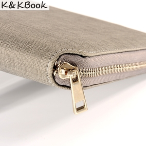 Image 3 - K&KBOOK KK009 Leather Notebook A5 A6 Binder Spiral Notebook Diary Journal Planner Agenda 2018 Large Capacity Padfolio Cardeno