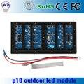 Alto brilho P10 Outdoor módulo de LED RGB 3in1 SMD ao ar livre full Color Display LED módulo 1/2 varredura, 320 * 160 mm 32 * 16 Pixels
