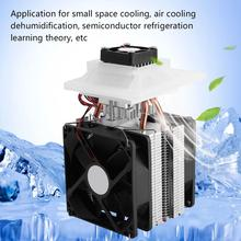 12V 72W Semiconductor Refrigeration Thermoelectric Cooler Peltier Air Cooling Dehumidification System For Home/Office