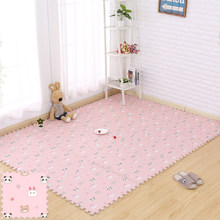 Bear rabbit baby play mat tapete infantil floor Home Baby Room Puzzle toy gift children's kids rug developing mats(China)