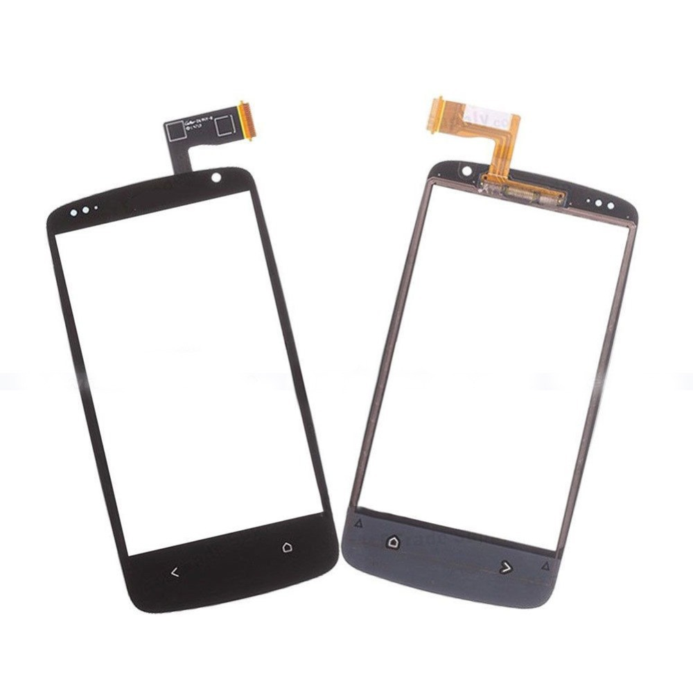 NEW Touch Screen Digitizer Glass Repair Parts For HTC Desire 500 5088 506e with Logo free shipping