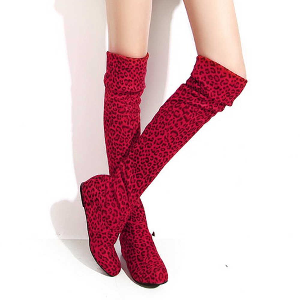 Meotina Uyluk Yüksek çizmeler kadın ayakkabıları Kış Yüksekliği Artan Diz Çizmeler üzerinde Seksi Streç Uzun Çizmeler Kadın Artı Boyutu 4 12