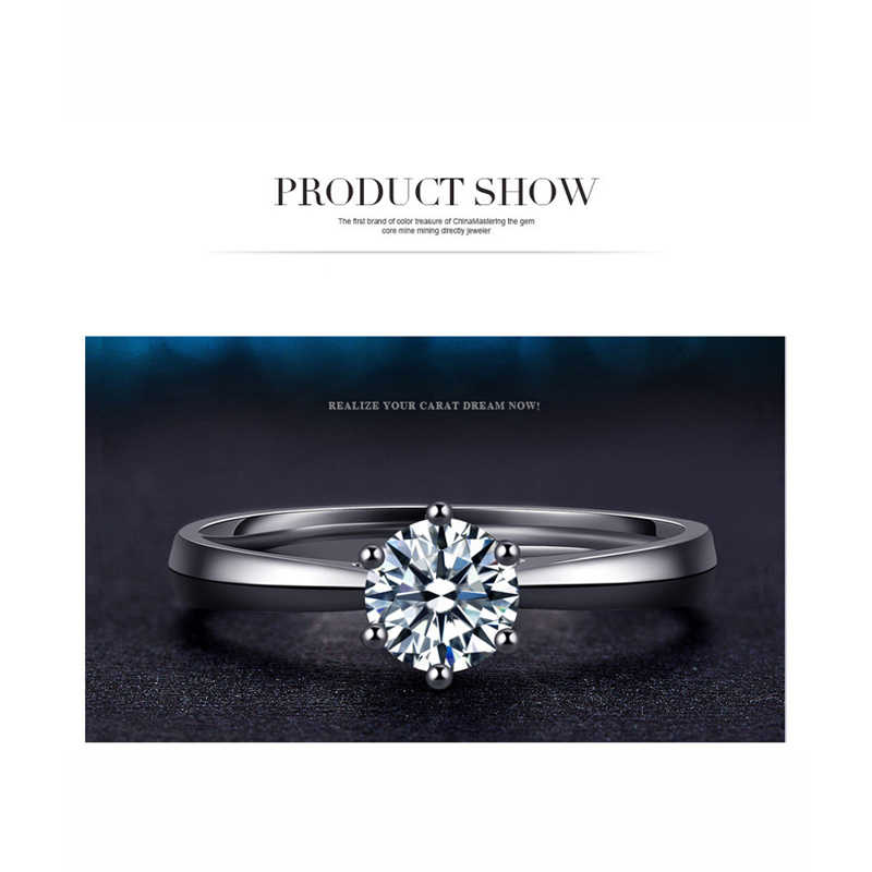 ราคาผู้หญิงหญิงสาวงานแต่งงานแหวนรอบ Cubic Zircon แหวนราคาถูกมาก 925 เงินสเตอร์ลิงแฟชั่นเครื่องประดับของขวัญ
