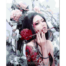 HOME BEAUTY drawing picture paint on canvas diy digital oil painting by numbers home decoration craft gifts E256(China)