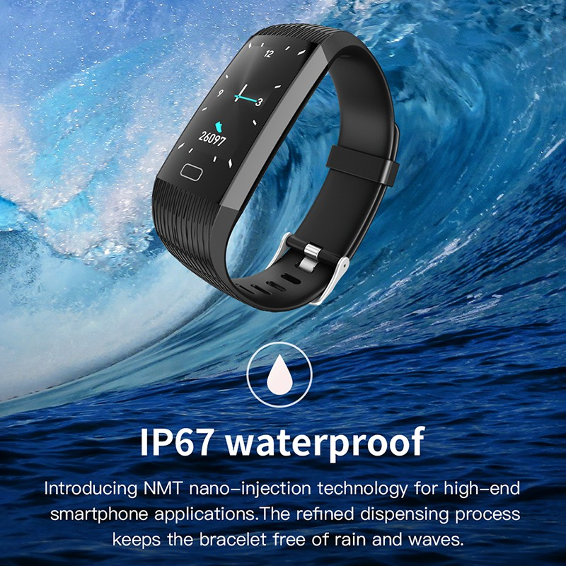 Z6 New Smart Watch Men Women Heart Rate Monitor Blood Pressure Fitness Tracker Smartwatch Sport Watch for ios android +BOX(China)