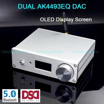 デュアル AK4493EQ Dac Dsd Usb Dac Bluetooth 5.0 ワイヤレスプレーヤー AK4493 Hifi Dac Xmos Amanero Usb