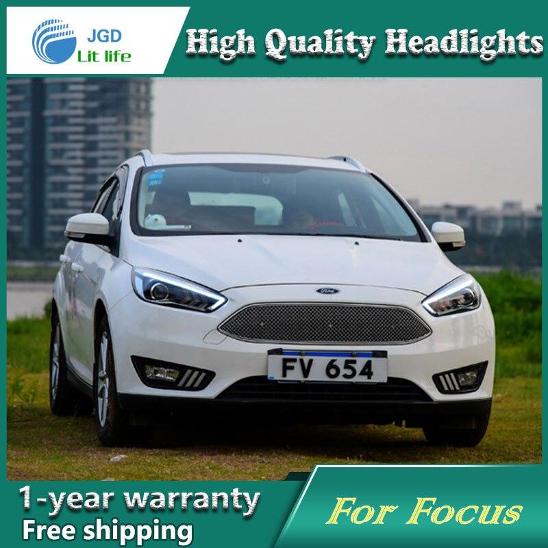 Κάλυμμα αυτοκινήτου για το Ford Focus 2015 - Φώτα αυτοκινήτων - Φωτογραφία 4