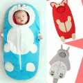 Baby sleeping children baby machine cat is playing anti Ali infant sleeping bag cartoon