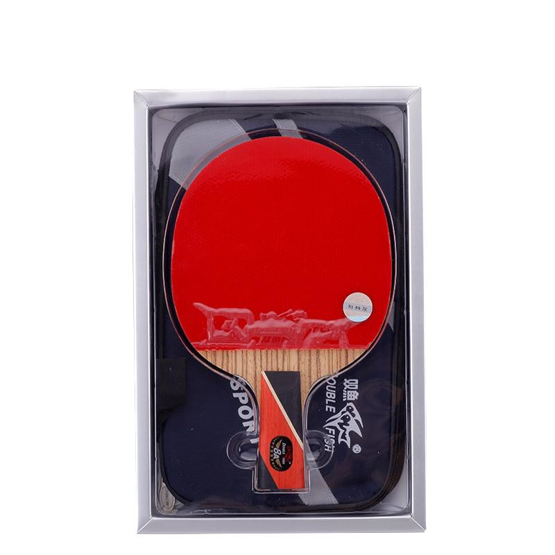 Original doble pez 8 estrellas 8A raquetas de tenis de mesa raqueta - Raquetas de deportes - foto 2