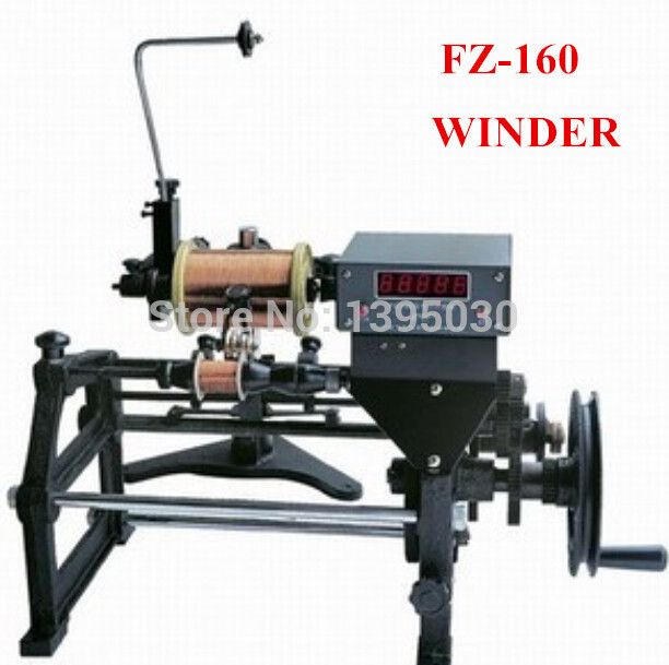 1pc New FZ-160 Manual Automatic Hand Electronic Coils Winding Machine 220V Applicable wire diameter 0.06-0.50mm computer intelligence racking machine