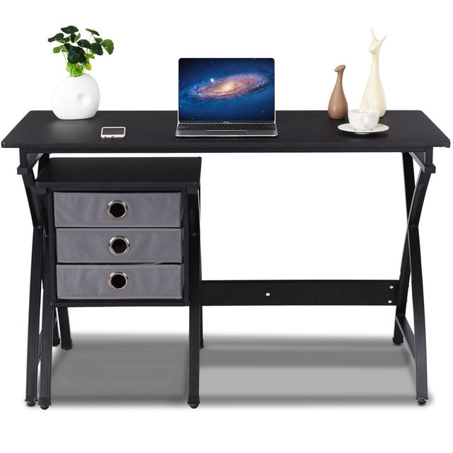 home office drawers. Contemporary Home Giantex Computer Desk PC Laptop Table Modern Writing Study Workstation Home  Office Furniture With 3 Drawers And Home Office Drawers
