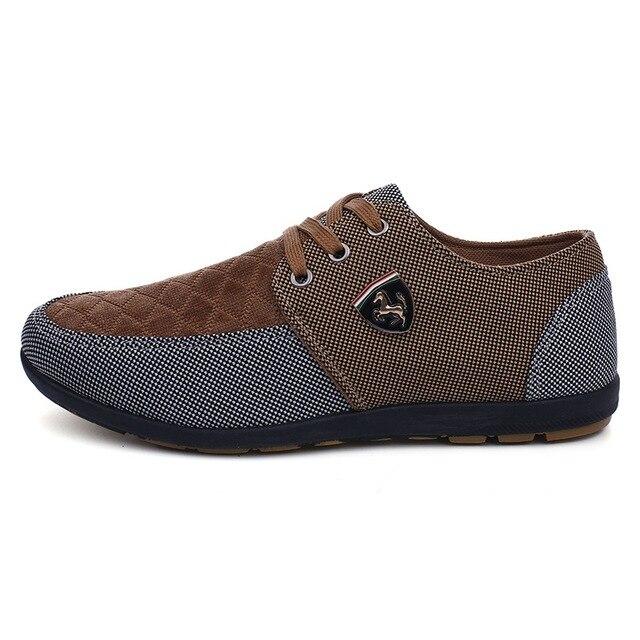 2016 mens Casual Shoes mens canvas shoes for men shoes men fashion Flats brand fashion Zapatos de hombre 10