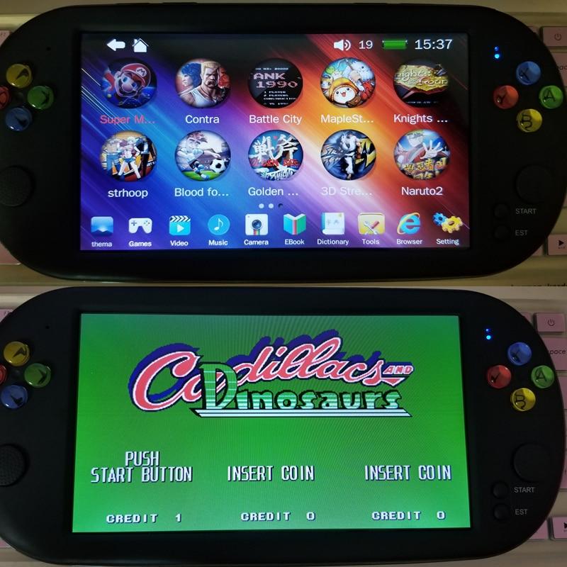 Nueva consola de juegos de 7 pulgadas 9