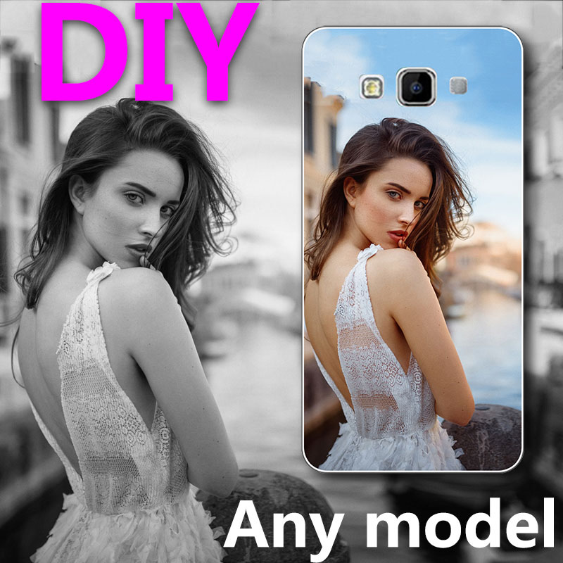 Custom DIY LOGO Design Photo Case for Samsung Galaxy A7 2015 A7 A700 A7000 Silicone or hard Back Cover Customized Phone Case