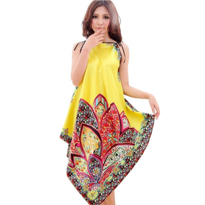 ROPALIA Retail Wholesale Factory Price! Women Sexy Casual Long Dress Chemise Nightgown Sleepwear Bath Nightwear