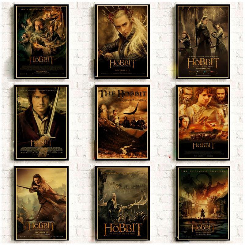 Фильм Хоббит винтажные постеры для дома/бар/Декор для жизни крафт-бумага высокое качество плакат стикер на стену