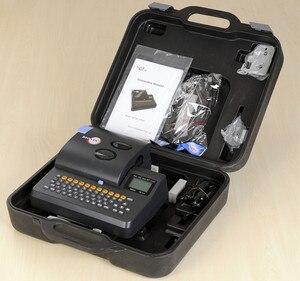 Image 5 - A máquina do número da linha s700e pode ser conectada a uma máquina da marcação da embalagem do computador calor shrinkable tubo impressora s650e atualizar