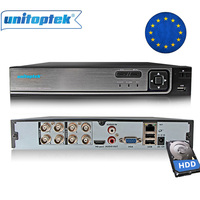 Security 3 IN 1 AHD Analog IPC DVR NVR XVR 4Ch 8Ch 1080P Video Recorder CCTV DVR RS485 P2P Onvif XMEye Hybrid Surveillance DVR