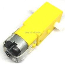 1 шт. TT Мотор 130 мотор умный автомобиль робот мотор-редуктор для Arduino DC3V-6V DC мотор-редуктор