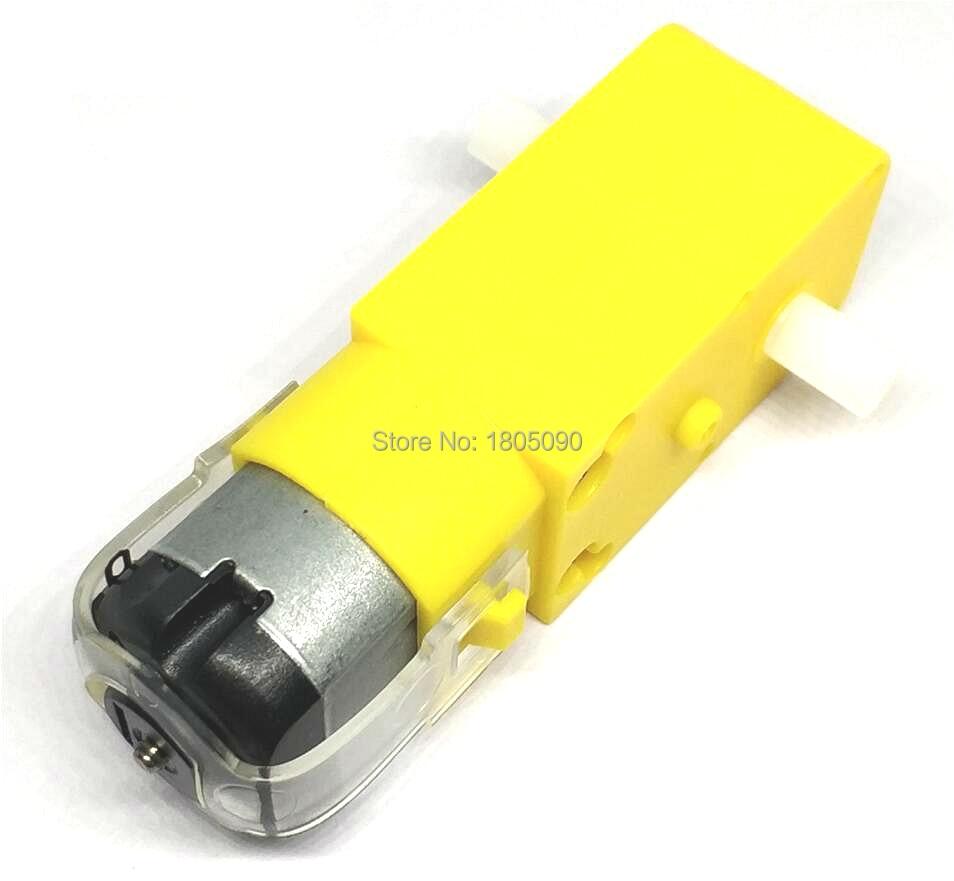 1 pçs tt motor 130motor inteligente carro robô engrenagem do motor para arduino DC3V-6V dc engrenagem do motor frete grátis