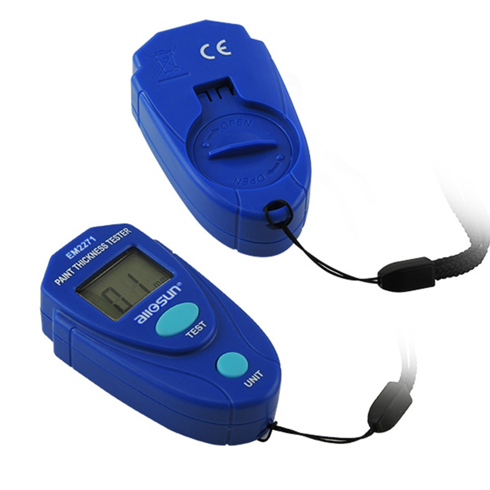 Medidor de calibre de pintura de revestimiento 0 ~ 2.0 mm Espesor de - Instrumentos de medición - foto 5
