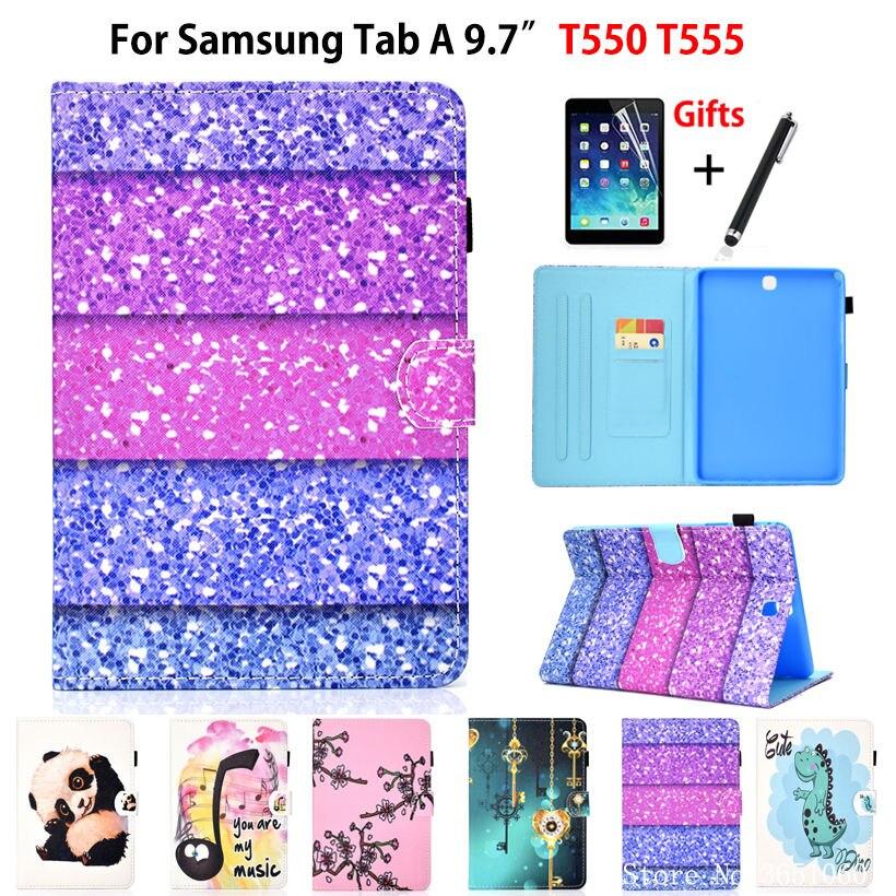 Cute Cartoon Case For Samsung Galaxy Tab A 9.7