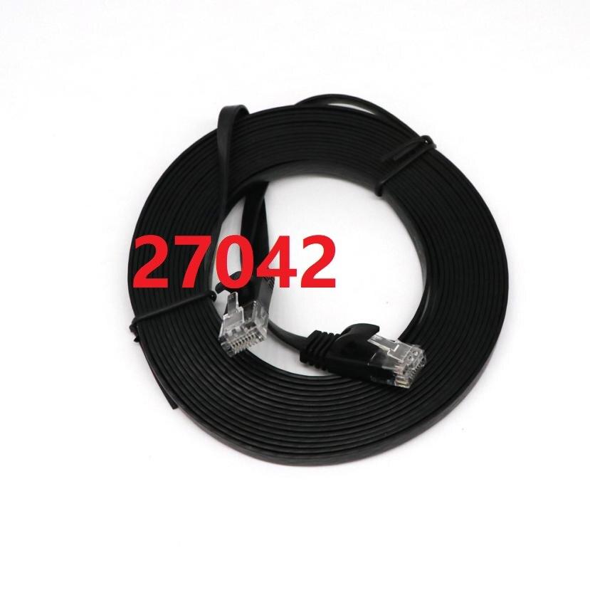 27042 CAT6 Ethernet réseau plat LAN câble UTP Patch routeur câbles