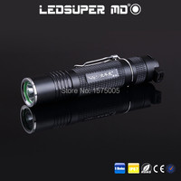 Aluminum Alloy Waterproof Rechargeable MINI Portable Strong Light Best LED Flashlight For Bicycle