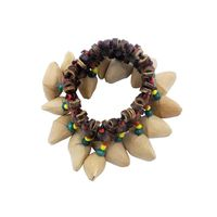 Adult Children Bracelet Hand Bell Nuts Shell Dance Wrist Decoration Instruments Accessories For Djembe African Drum