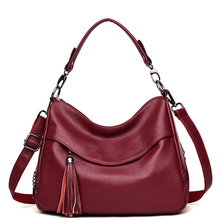 купить New Women Messenger Bags High Quality PU Leather Women's Shoulder Bag Crossbody Bags Casual Famous Brand Popular Ladies Handbags по цене 3156.16 рублей
