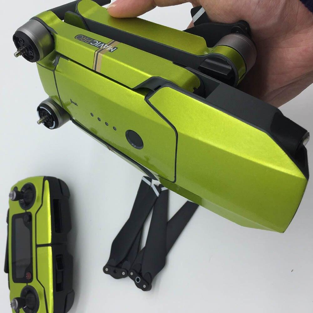 1set Fluorescence Remote Control Body Arm Full Set stickers Waterproof Cool Sticker for DJI Mavic Pro platinum Drone Accessories