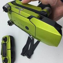 1 компл. флуоресценции удаленного Управление рукоятки тела полный набор Стикеры s Водонепроницаемый Прохладный Стикеры для DJI Мавик Pro/платина drone аксессуары