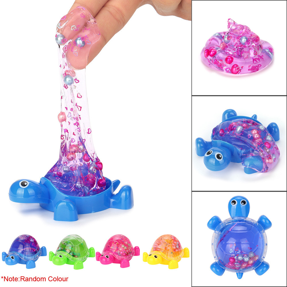 HIINST antistress ball Novel Tortoise Crysta Jelly Toy Soft Slime Scented Stress Relief Toy Sludge Toys apr18HY