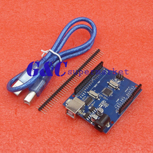 NEW ATmega328P CH340G UNO R3 Board & USB Cable DIY 10pcs lot atmega328p atmega328p au qfp32 new