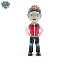 Paw Patrol Ryder zabawki figurki akcji pcv plastikowa figurka lalka model Ryder Paw Patrol zabawki urodziny prezenty zabawka dla dziecka tanie tanio Żołnierz zestaw Żołnierz gotowy produkt Wyroby gotowe Unisex Jeden rozmiar Do not swallow 6 5-8 cm 1 60 Zachodnia animiation