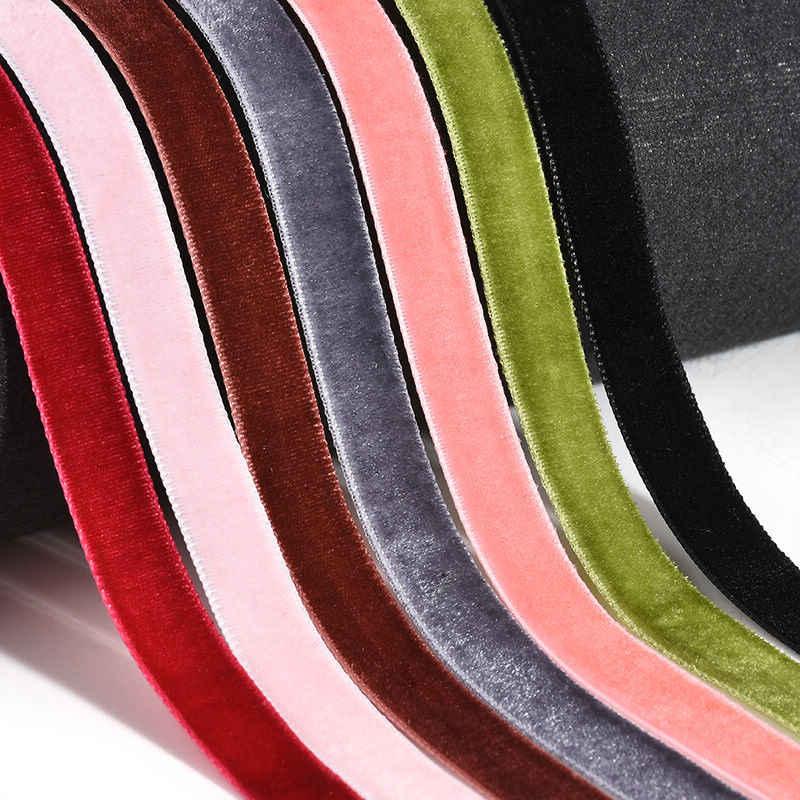 ใหม่แฟชั่นเกาหลี Velvet สีสัน Choker สร้อยคอ Retro โกธิคคอสร้อยคอผู้หญิงเครื่องประดับของขวัญ