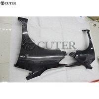 Для Honda Fit углеродное волокно Боковые крылья оригинальный стиль формовочная отделка тела комплект 13 18