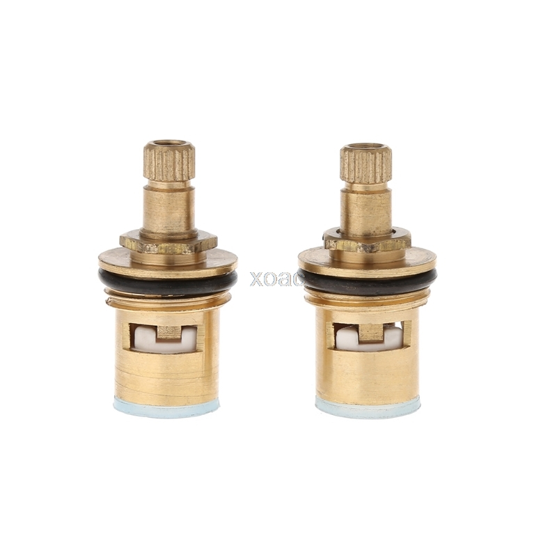 2 Pcs Faucet Replacement Brass 1/4 Turn G1/2