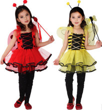 Christmas Childrens Costumes for Halloween Childrens costumes Little bee Cute costumes Butterfly cartoon baby dance clothes