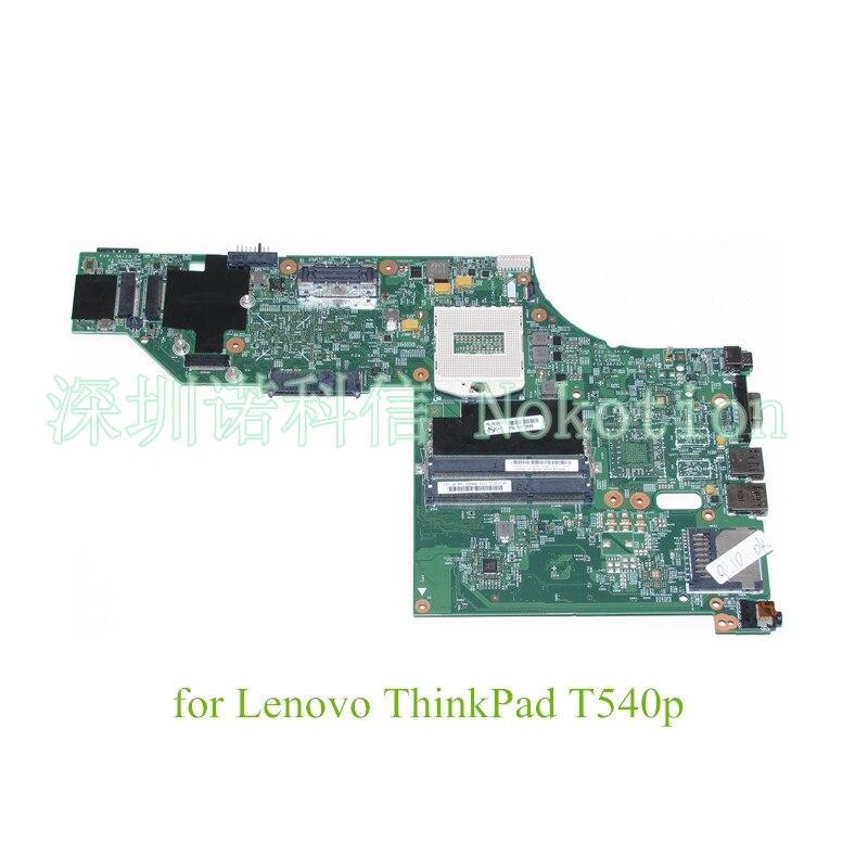 NOKOTION Mainboard LKM-1 SWG2 MB 12308-2 48.4LO16.021 laptop motherboard For lenovo Thinkpad T540 T540P FRU 04X5257 Works цены