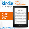 * Kindle Voyage 300 ppi wi-fi 6 inch touch screen 7.6 mm, 180g ,4G E-book reader e-book 162*115MM e-ink screens