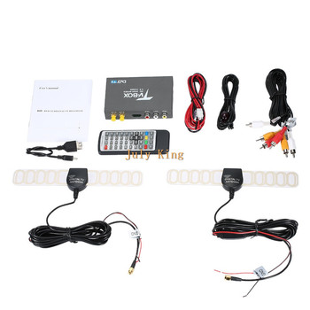 Dual Antenna DVB-T2 Car Digital HD TV Receiver, DVB-T2 Receiver HDMI TV Tuner Support 160KM/H MPEG-1 / -2 / -4, H.264 Decoder 1