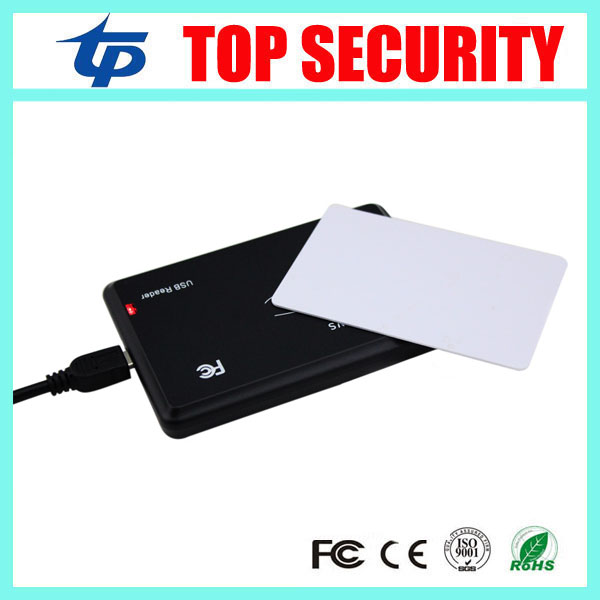 125KHZ RFID smart card reader USB EM RFID card reader usb smart card reader