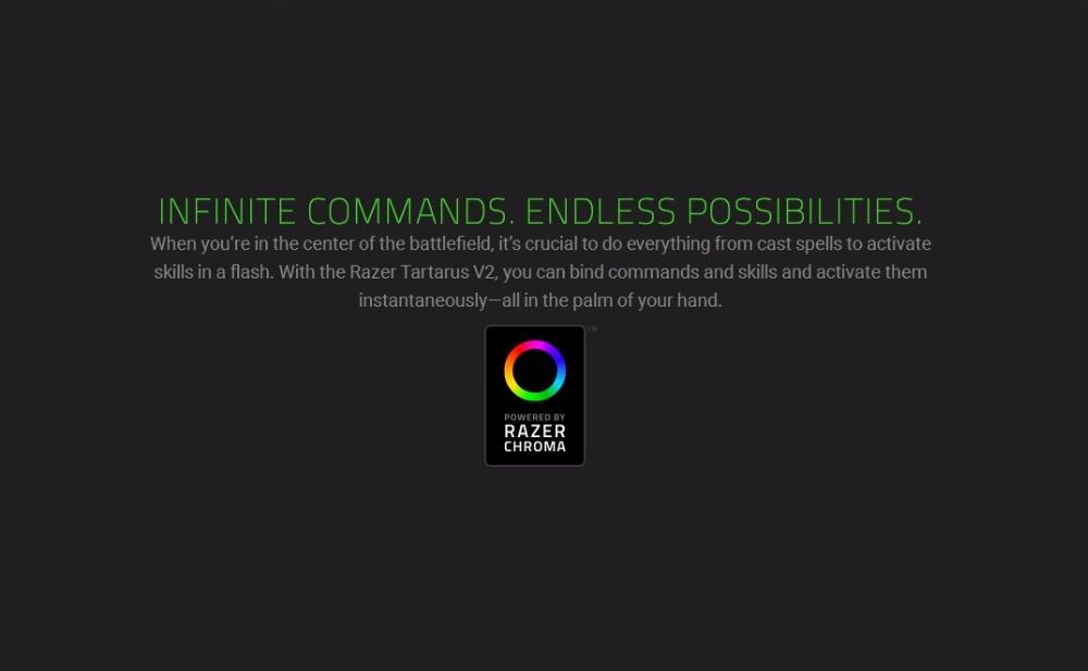 US $75 7 50% OFF|Razer Tartarus V2 Chroma Mecha Gaming Keypad 32 Keys  Membrane Wired Keyboard Fully Programmable Backlight Mechanical Keys-in