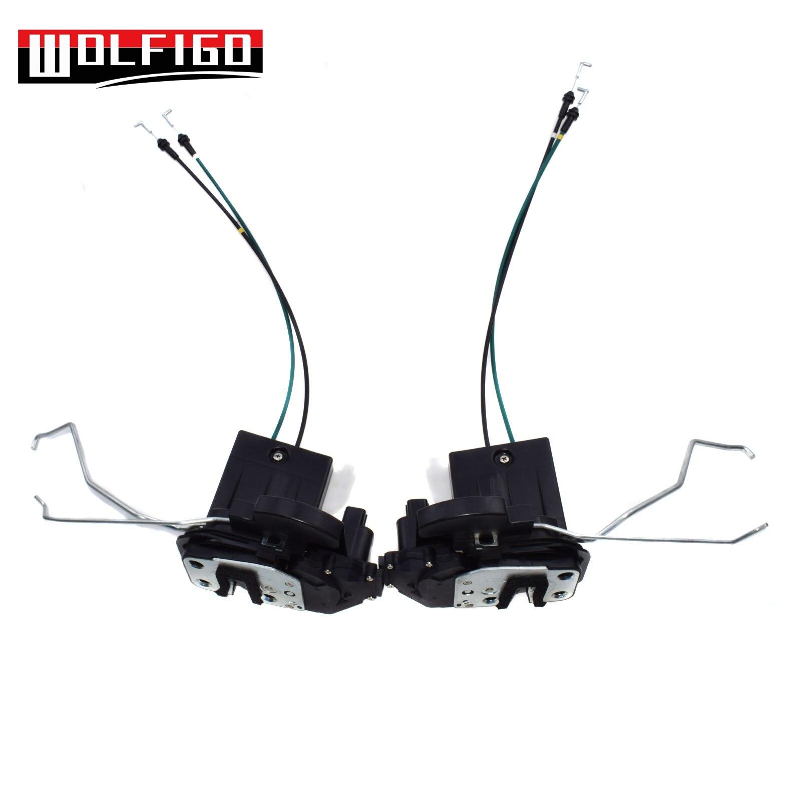 WOLFIGO 1 PC / 2PCS Front Left & Right Door Lock Actuator Motor Latch For Kia Spectra 81310-2F030 New new oem 2pcs front left