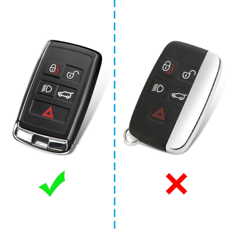 Car Key Fob Cover Case For <font><b>Range</b></font> <font><b>Rover</b></font> Sport <font><b>Evoque</b></font> Protection <font><b>Keychain</b></font> Holder image