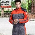 2015 de Inverno de Espessura Roupas de Segurança Do Trabalho de Reparação de Serviço Fábrica Uniforme Workwear Macacão Moda Uniforme
