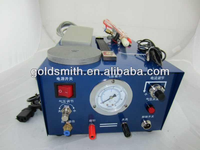 argon Welding machine for making jewelryjewelry weldersoldering machine 110V with 2 electrode